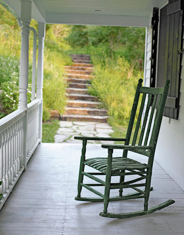 Rocking Chair On Porch. U201c